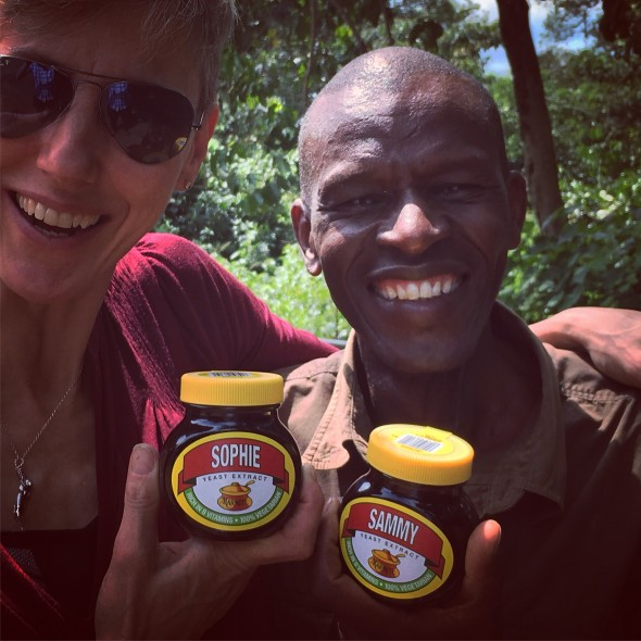 Marmite: Cnnot will not travel without it!