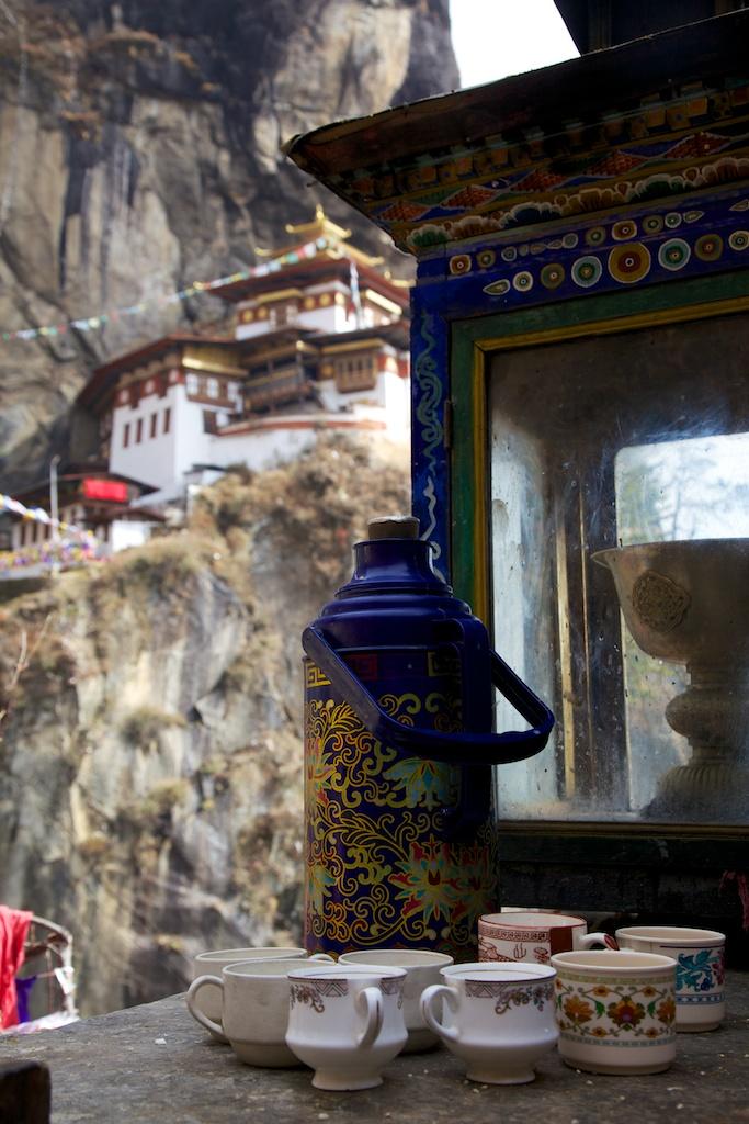 Tiger's Nest tea stop, Bhutan 2013